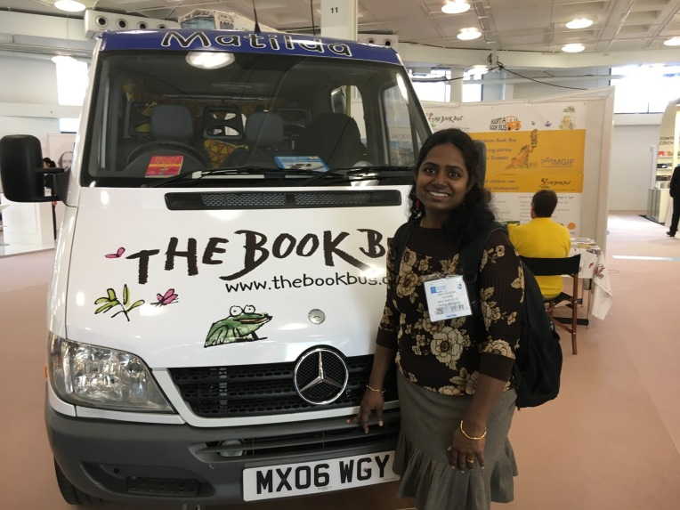 Book Van at LBF